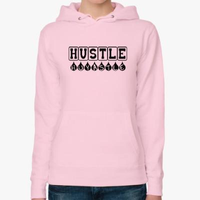 Женская толстовка худи Hustle