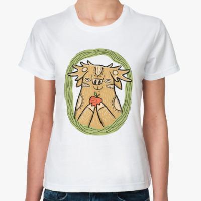 Классическая футболка Лось