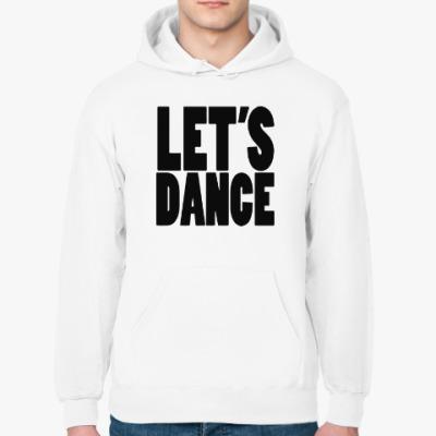 Толстовка худи Let's dance