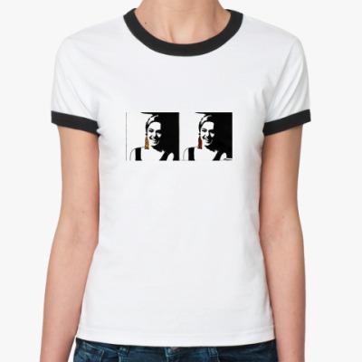 Женская футболка Ringer-T Edie