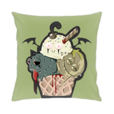 Подушка Рожок Морожок Halloween edition
