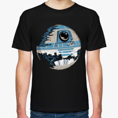 Футболка Звезда Смерти (R2-D2)