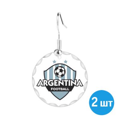 Серьги Футбол Аргентины
