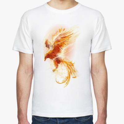 Футболка Птица Феникс Fenix bird