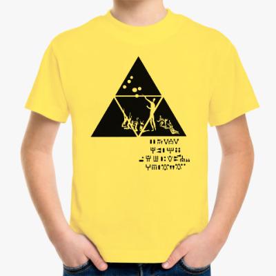 Детская футболка Приглашение инженеров