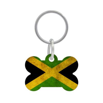 Адресник 'косточка' 'Ямайка'