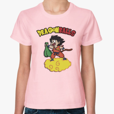 Женская футболка Шары Дракона