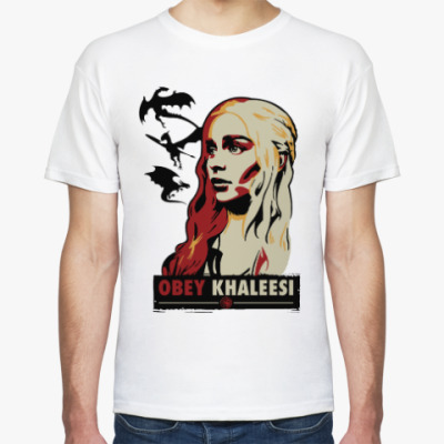 Футболка Obey Khaleesi Игра престолов