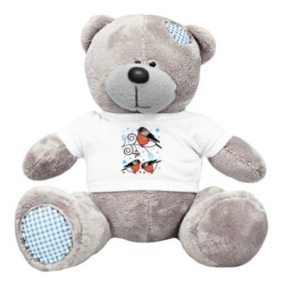 Плюшевый мишка Тедди Снегири