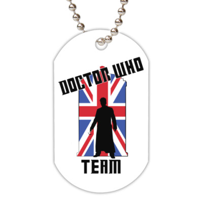 Жетон dog-tag Doctor Who Team