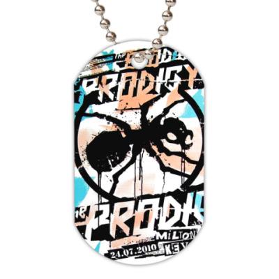 Жетон dog-tag  (белый) The Prodigy Ant