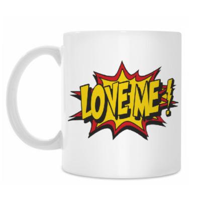 Кружка Love me люби меня