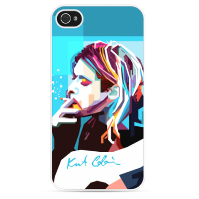 Чехол для iPhone Kurt Cobain