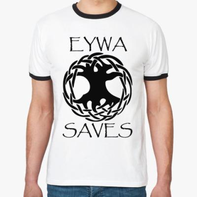 Футболка Ringer-T Eywa saves