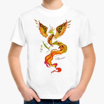Детская футболка Феникс