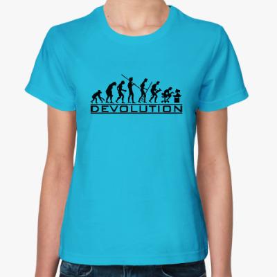 Женская футболка Регресс