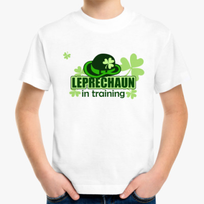 Leprechaun in training