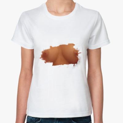 Классическая футболка Грудь