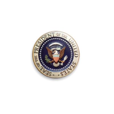 Значок 25мм  'Президент США'