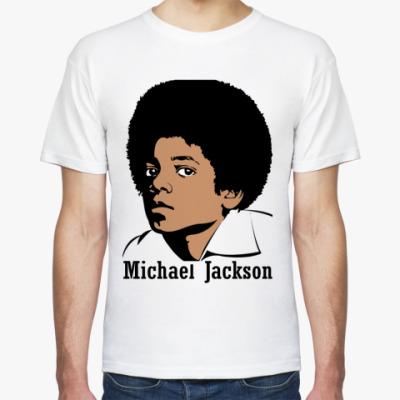 Футболка Michael Jackson в юности