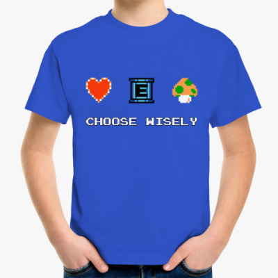 Детская футболка 8-bit
