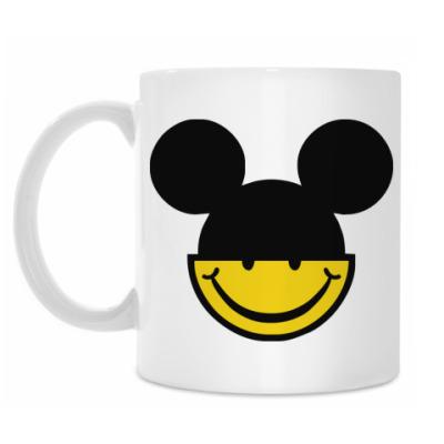 Кружка Mickey smile