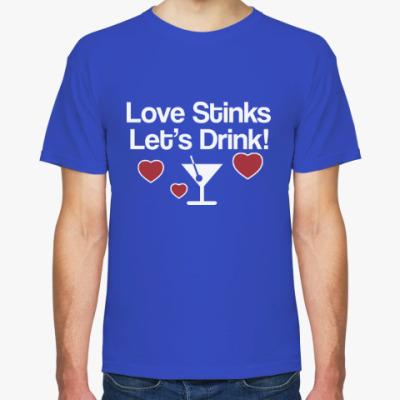 Футболка Love Stinks
