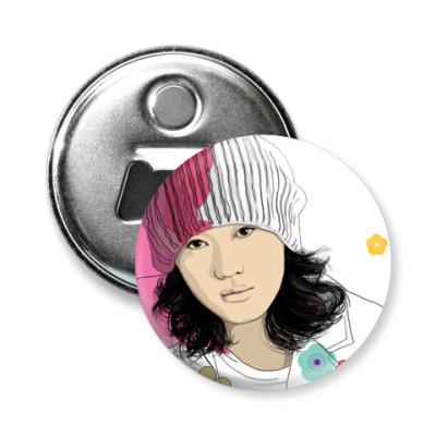 Магнит-открывашка -открывашка Jin