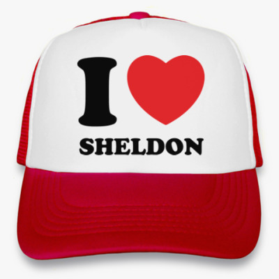 Кепка-тракер I Love Sheldon