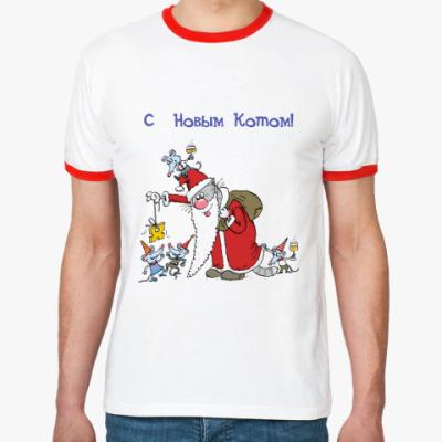 Футболка Ringer-T С Новым Котом!