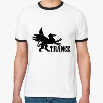 Футболка Ringer-T TRANCE