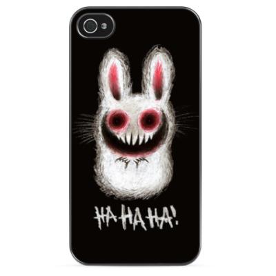 Чехол для iPhone 'Ха-ха кролик'