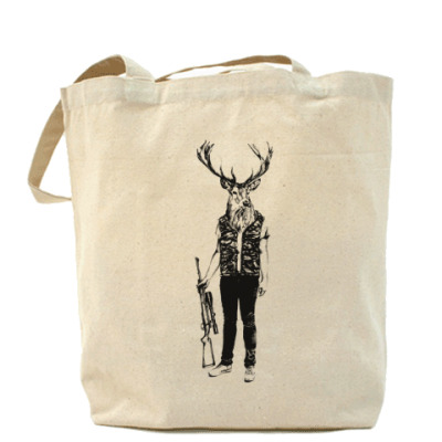 Сумка Охотник Холщовая сумка