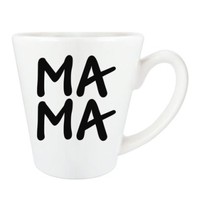 Чашка Латте МАМА