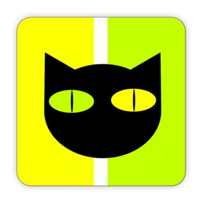 Костер (подставка под кружку) Black Cat