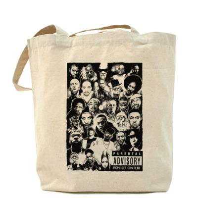 Сумка Rap Legends Холщовая сумка