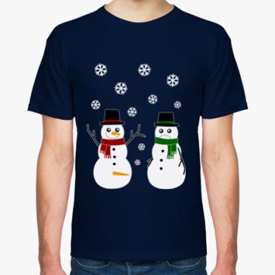 Футболка Happy Snowman