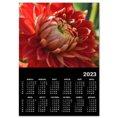 Календарь Красивый цветочек