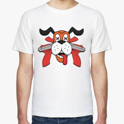 Футболка Собака (Охота на уток)