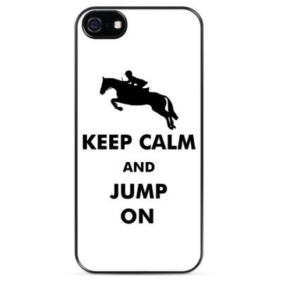 Чехол для iPhone Конный спорт - Jump On!