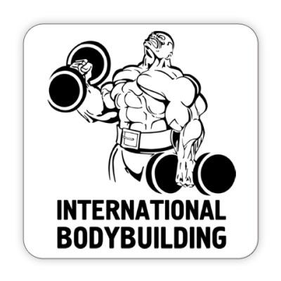 Костер (подставка под кружку)  bodybuilding