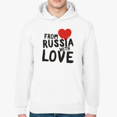 Толстовка худи from russia with love