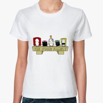 Классическая футболка Sushi Family