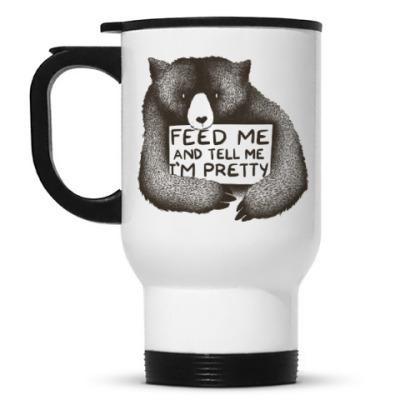 Кружка-термос Покорми меня