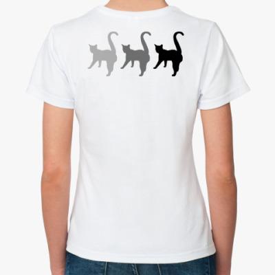 Классическая футболка Три кота
