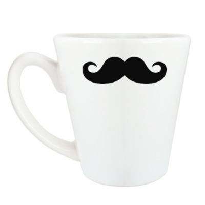 Чашка Латте С усами