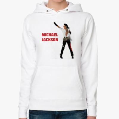 Женская толстовка худи Michael Jackson