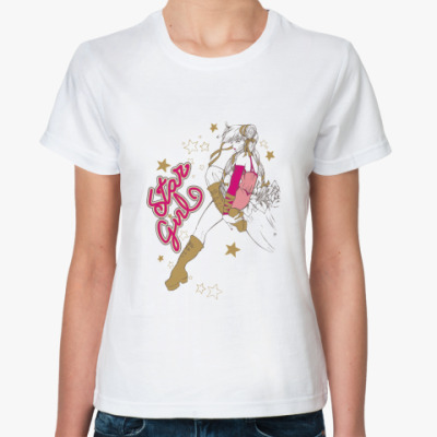 Классическая футболка Star Girl