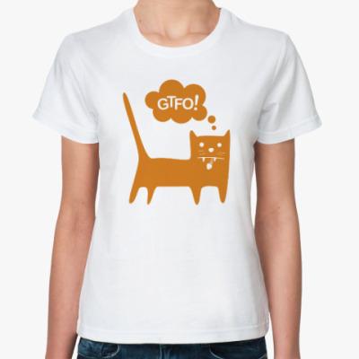Классическая футболка GTFO