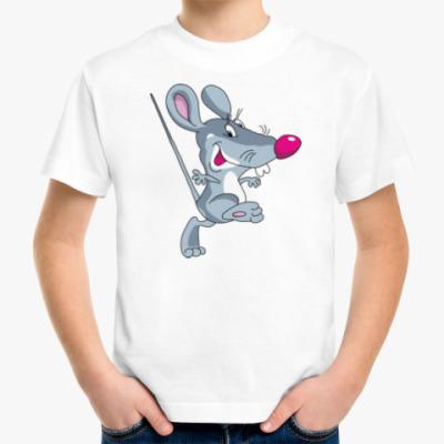 Детская футболка КРЫСА